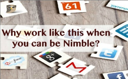 We Are Your Nimble Social CRM Solution Partner!